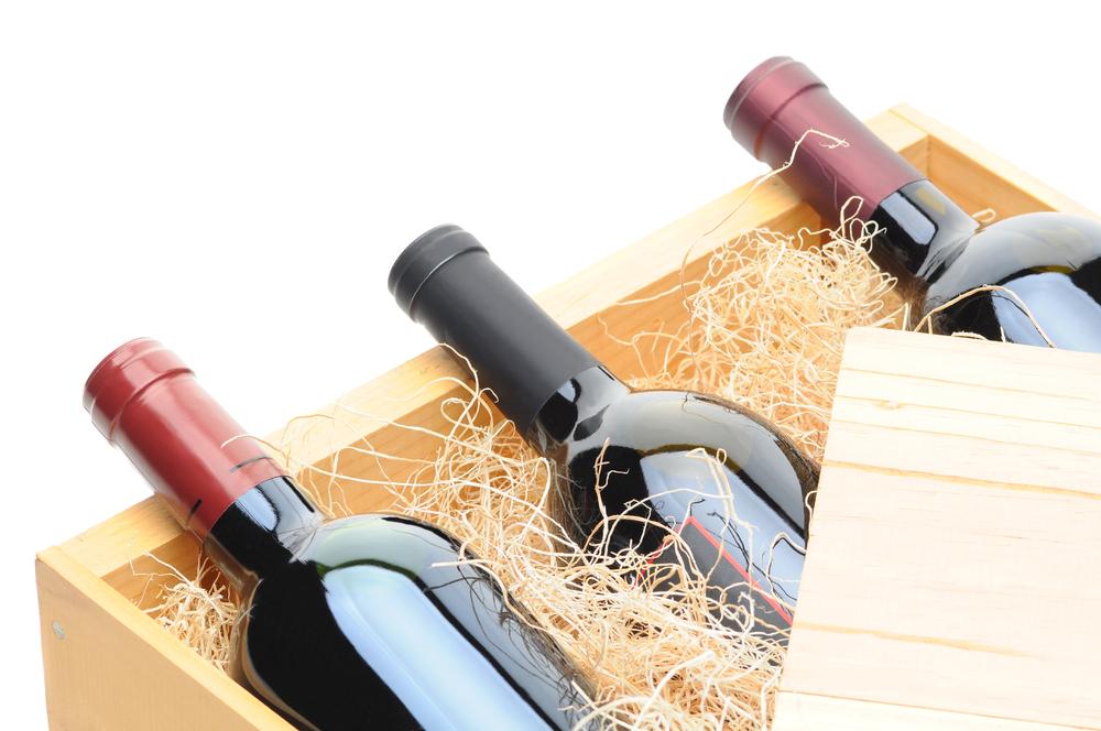 Emkapak houten wijnkist